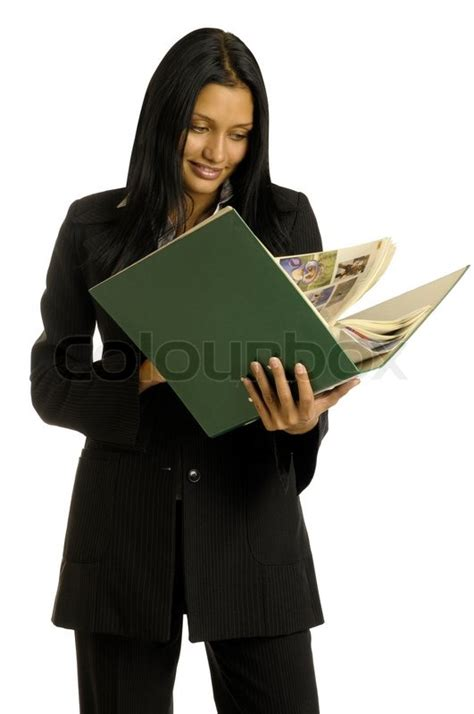 the in the black suit books beautiful businesswoman in the black suit is reading the