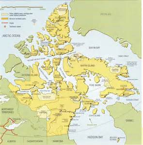 map of canada nunavut nunavut map nunavut canada mappery