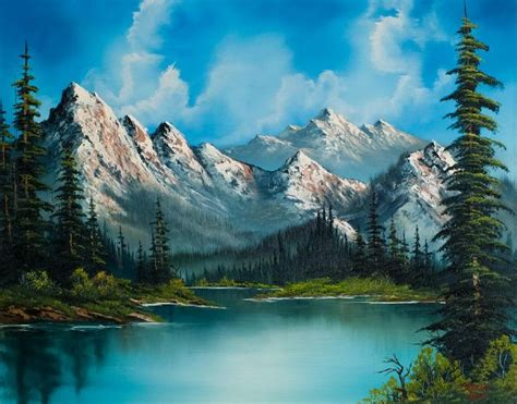 bob ross of painting bob ross natures grandeur paintings bob ross natures