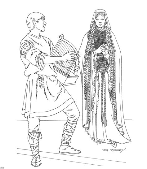 middle ages coloring pages wallpaper download