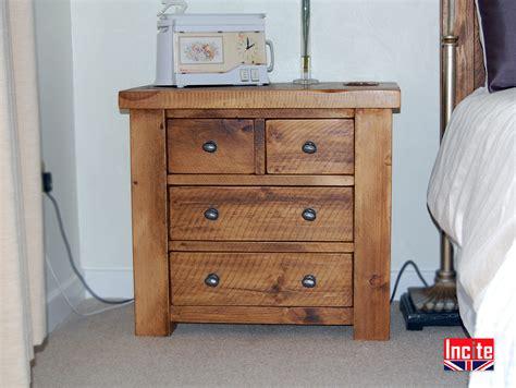 Handmade Pine Furniture - plank bedroom cabinets handmade in derbyshire by incite