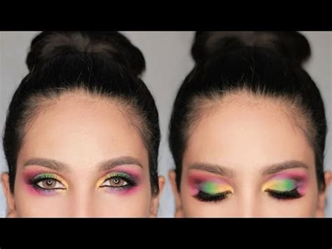 Eyeliner Inez colorful make up using inez cosmetics suhaysalim