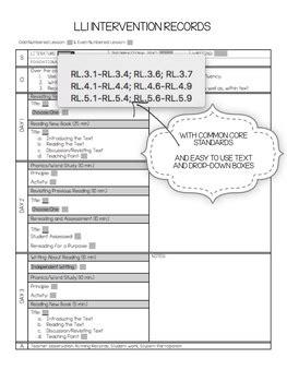 lli lesson plan template lli lesson plan template by the lead learner tpt