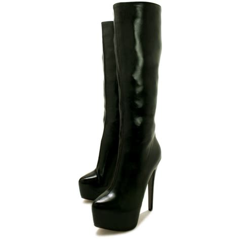 pictures of high heel boots buy phoebe stiletto heel concealed platform knee high