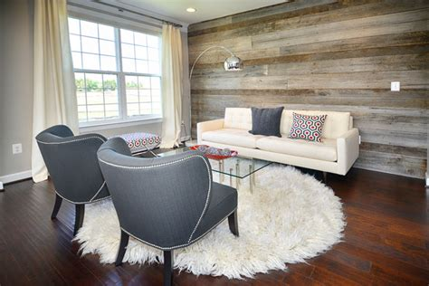 wood walls in living room modern living room reclaimed wood wall modern living room dc metro by domain design
