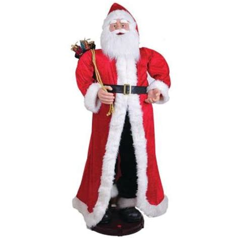 general foam 40 in traditional santa statue hd c5790
