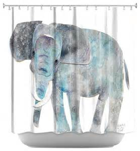 shower curtain artistic elephant contemporary shower