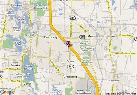 Awesome Hilton Garden Inn Canton Ohio #5: Super-8-motel-akron-green-canton-area-map.gif