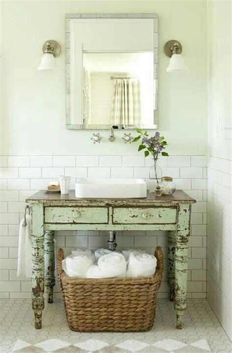 picture of shabby chic bathroom decor ideas