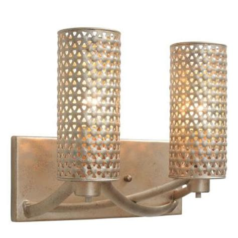 Zen Bathroom Lighting Varaluz Casablanca 2 Light Zen Gold Vanity Light 244b02zg The Home Depot