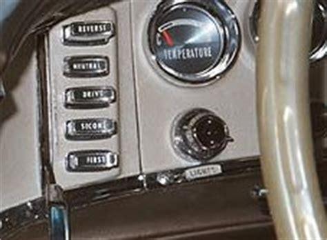 rambler car push button transmission pushbutton transmissions