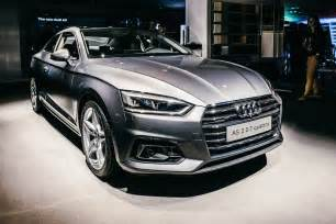 2017 audi a5 s5 coupe shows up in the metal at german