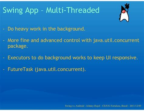 swing vs awt in java java swing vs android app