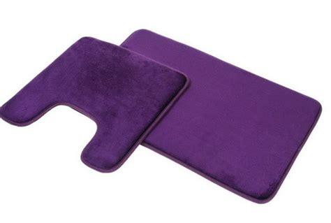 purple bath rug sets home design ideas