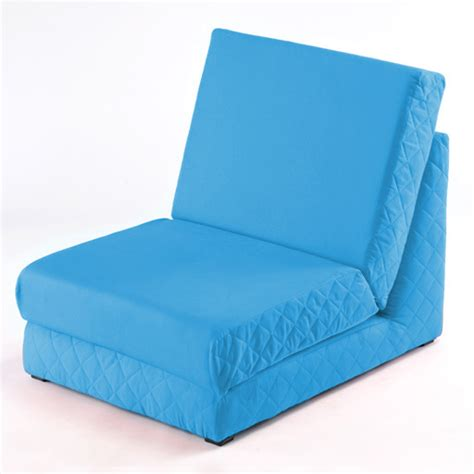 Fold Out Futon Mattress Aqua Fold Out Z Bed Single Chair 1 Seat Chair Guest Bed