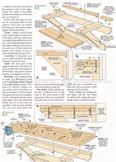 wall bench plans 25 best ideas about workbench plans on pinterest work