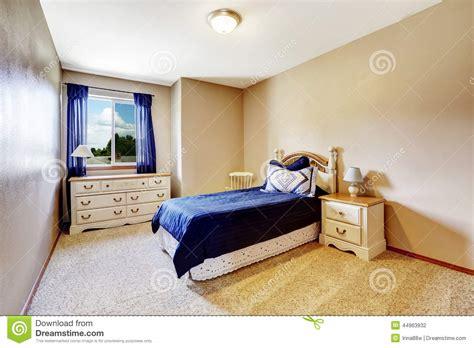chambre et literie int 233 rieur de chambre 224 coucher avec la literie et les rideaux de marine photo stock image