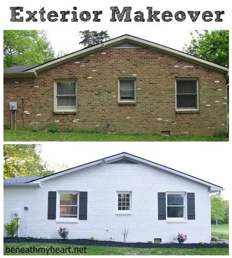 brick house exterior makeover 23 best ideas about flip house ideas on pinterest painted brick exteriors house and