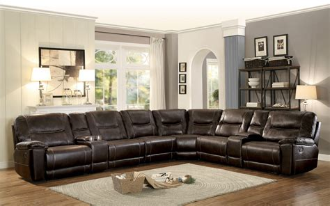 homelegance columbus reclining sectional sofa set a