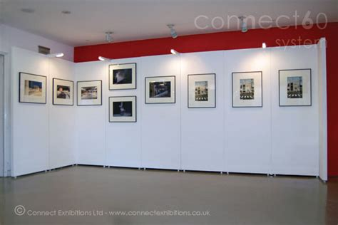 art gallery display connect walls walling systems mobile temporary