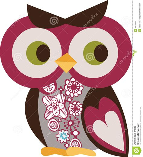 owl character stock images image 9014334