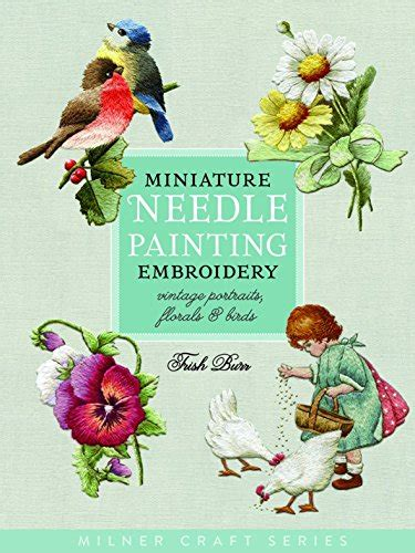 crewel embroidery a practical guide milner craft series books 9781863514705 miniature needle painting embroidery