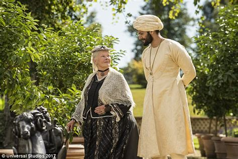 film queen victoria and abdul karim enjoy a complimentary preview of victoria abdul daily