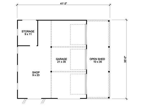 Plan 007g 0006 Garage Plans by Garage Workshop Plans 3 Car Garage Workshop And