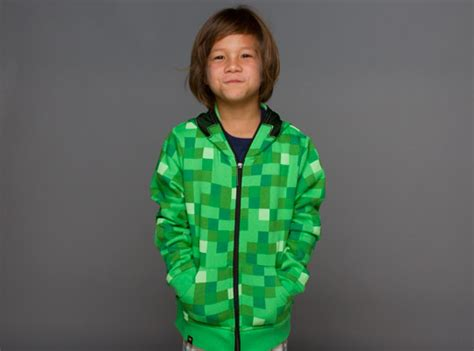 Vest Zipper Vest Rompi Minecraft Creeper j nx minecraft creeper premium zip up youth hoodie clothing inspired by