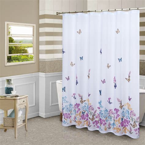 most popular shower curtains most popular bathroom colors with butterfly shower curtain
