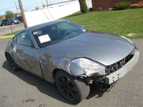 wrecked nissan 350z for sale find used nissan 350z salvage rebuildable repairable