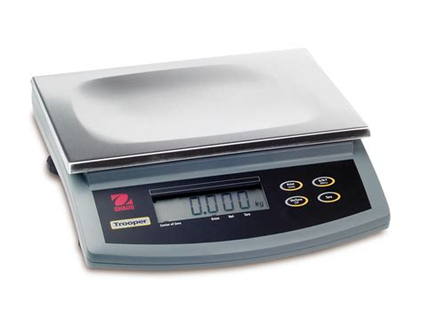 ohaus bench scale ohaus trooper compact bench scale tr15rs