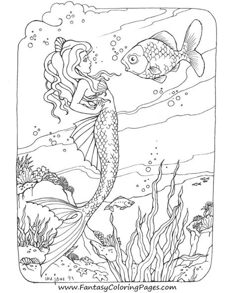 mermaids for adults coloring pages free printable coloring pages for adults mermaids