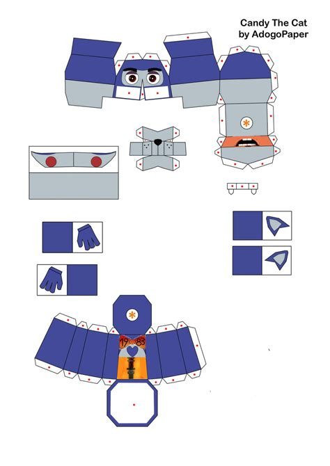 One Papercraft - me in papercraft 1 by jackobonnie1983 on deviantart