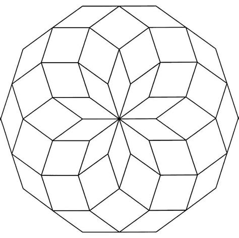 Free Printable Geometric Coloring Pages For Adults Free Printable Geometric Coloring Pages