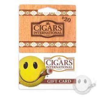 International E Gift Cards - free cigars international 20 gift card gift cards listia com auctions for free stuff