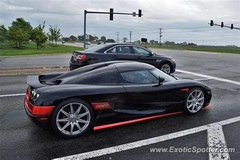 Koenigsegg Ccxr Spotted In South Barrington Illinois On