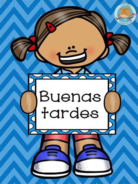 imagenes palabras magicas buenas tardes school pinterest spanish and school