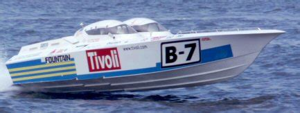 wyatt fountain boats tivoli b 7 mechanic to offshore racing chion