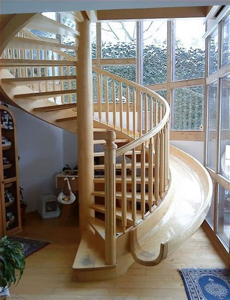 Stair Slide by Breathtaking Staircase Designs