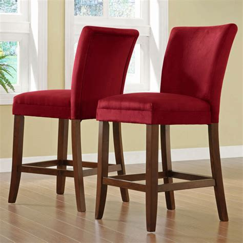 Cheap Bar Stool Chairs by Parson Counter Height Chair Set Of 2 Design
