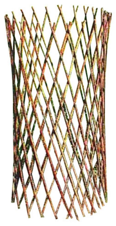 cone trellis willow cone trellis 48 quot h rustic home fencing and