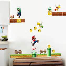 wall stickers mario popular mario wall stickers buy cheap mario wall stickers