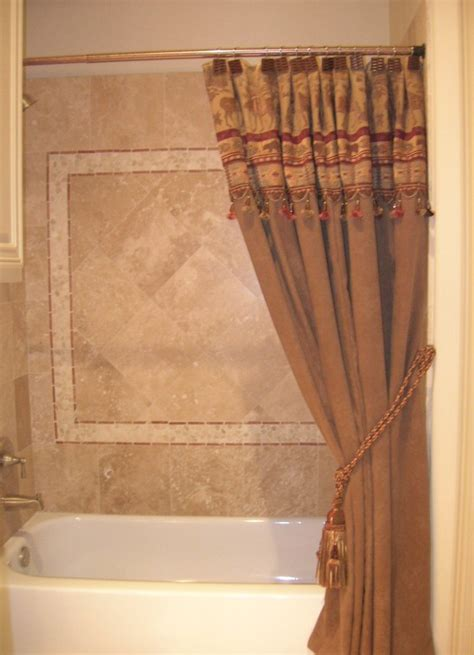 Custom Bathroom Shower Curtains Custom Shower Curtains Bathroom Traditional With Green
