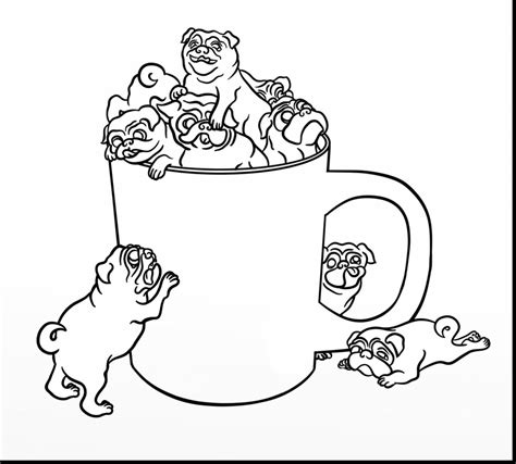 colored coloring pages beautiful pug colouring pages with pug coloring pages alphabrainsz net