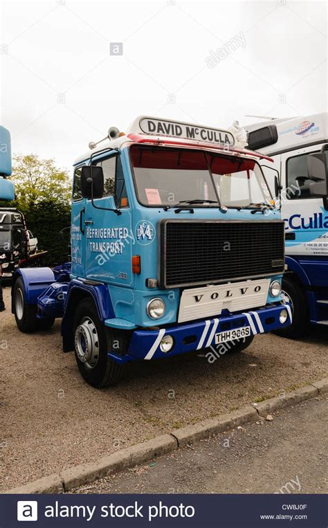 who owns volvo trucks volvo lorry truck owned by david mcculla refrigerated