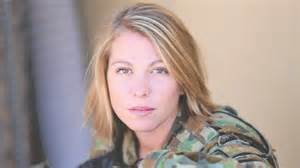 Jessica bailey 23 an army medic who is working with australian troop