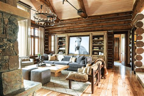 faux holzdecken fliesen a montana home renewed with rustic style