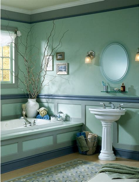 decorating blue bathroom decosee
