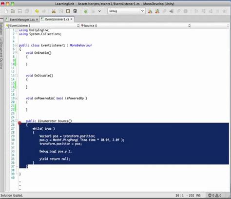 unity tutorial delegate unity coding tips part 1 events and delegates youtube
